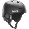 Bern Macon EPS Matte Black w/ Black Liner